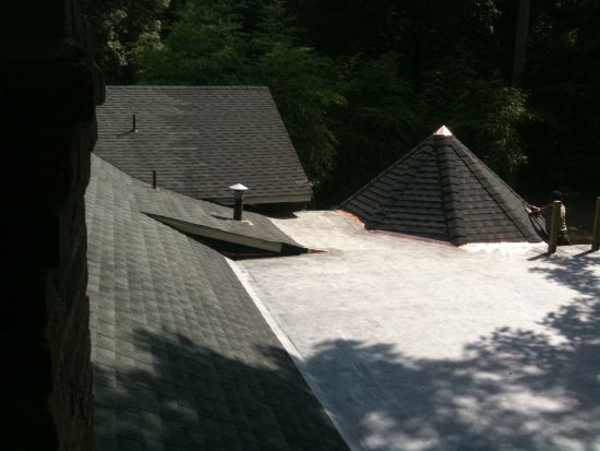AZ Best EPDM roofing system w copper flashing Armonk Ny
