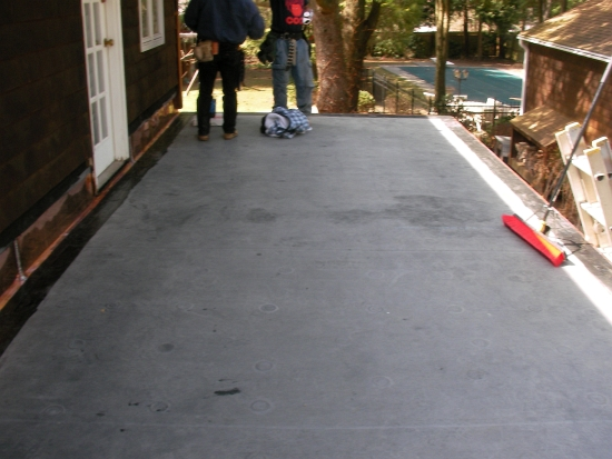AZ Best EPDM roofing system w copper flashing Westport CT