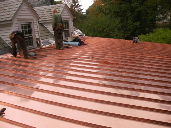 az best roofing standing seam roofs pleasantville ny